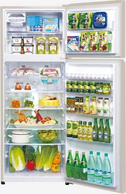 Двухкамерный холодильник Panasonic NR-B 510 TG-N8 золотое шампанское