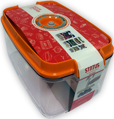 цена на Контейнер для вакуумного упаковщика Status VAC-REC-45 Orange