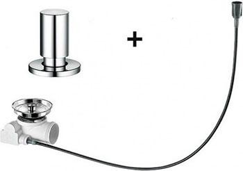 Набор доукомплектации клапаном-автоматом BLANCO с круглой ручкой хром marni кожаная сумка с круглой ручкой
