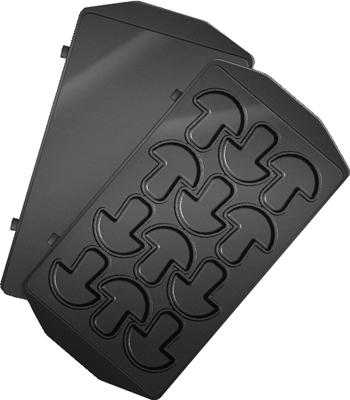 Панель для мультипекаря Redmond RAMB-34 (Грибочки) (Черный) панель для мультипекаря redmond ramb 26 бургер черный
