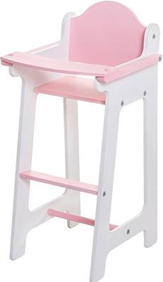 Кукольный стул для кормления Paremo Белый PFD 116-10 аксессуары для кукол kidkraft кукольный стульчик для кормления