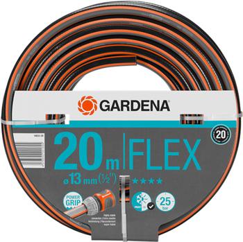 Шланг садовый Gardena FLEX 13 мм (1/2'') 20 м 18033-20 шланг садовый gardena basic 13 мм 1 2 20 м 18123 29