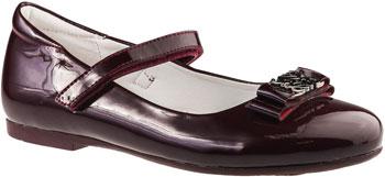 Фото - Туфли BiKi А-В24-B 192 33 размер цвет бордовый дутики для девочки biki цвет черный a b23 33 c размер 34
