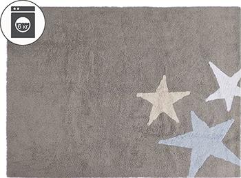 Ковер Lorena Canals Три звезды Three Stars (серые и голубые) 120*160 C-TE-GA ковер lorena canals trace лучи лесная роза 160 d c trace wood