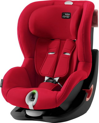 Автокресло Britax Roemer King II LS Black Series Fire Red Trendline 2000030802 автокресло britax romer king ii ls black series football edition highline