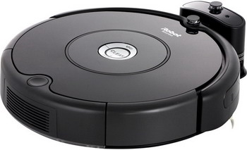 Робот-пылесос iRobot Roomba 606 черный пылесос irobot
