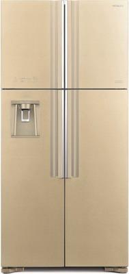 Холодильник Side by Side Hitachi R-W 662 PU7 GBE бежевое стекло