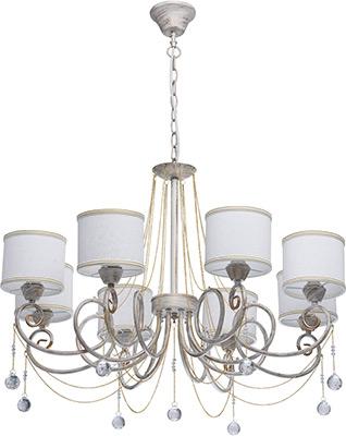 Люстра подвесная MW-light Виталина 448012508 8*40 W Е14 220 V