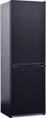 Двухкамерный холодильник NordFrost NRB 119 232 черный холодильник nord nrb 119 842 двухкамерный красное стекло [00000246087]