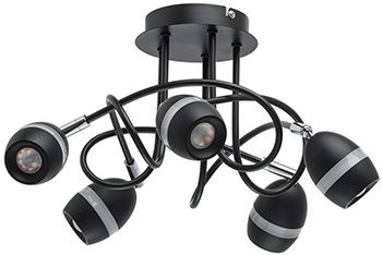 Люстра потолочная DeMarkt Этингер 704015905 40*0 5W LED 220 V