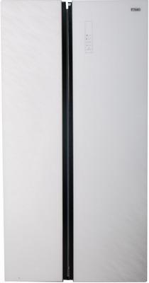 Холодильник Side by Side Zarget ZSS 615 WG холодильник zarget zrs 65w