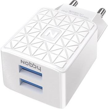 Сетевое зарядное устройство Nobby Practic NBP-TC-21-02