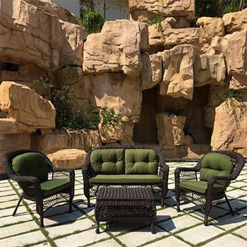 Комплект мебели Афина LV 520 BG Brown/Green