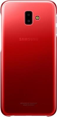 Чехол (клип-кейс) Samsung J6+ (J 610) Gradation Cover red EF-AJ 610 CREGRU цена и фото