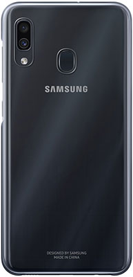 Фото - Чехол (клип-кейс) Samsung A 30 (A 305) GradationCover black EF-AA 305 CBEGRU чехол клип кейс samsung a 70 a 705 gradation cover black ef aa 705 cbegru