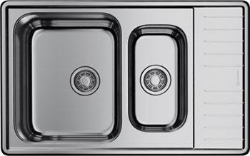 Кухонная мойка Omoikiri Sagami 79-2-IN универсальная нерж.сталь (4993733) кухонная мойка omoikiri sagami 79 2 in нержавеющая сталь 4993733