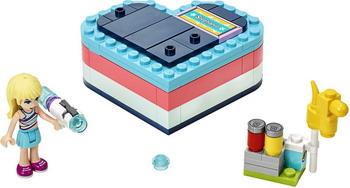 Конструктор Lego Friends 41386 Летняя шкатулка-сердечко для Стефани конструктор lego friends катер для спасательных операций 908 дет 41381