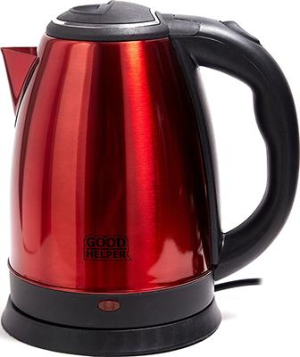 Чайник электрический GoodHelper KS-181C красный фото