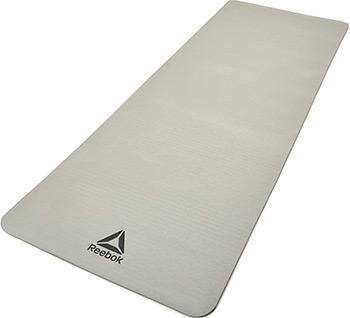 Коврик для йоги и фитнеса Reebok 7 мм серый RAMT-11014GR цена