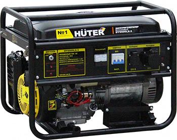 Электрический генератор и электростанция Huter DY9500LX-3 64/1/41 бензиновый генератор huter dy9500lx 3