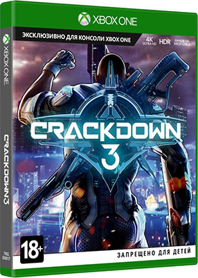 Игра для приставки Microsoft Xbox One: CRACKDOWN 3 Англ. язык (7KG-00017)
