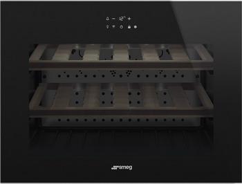 Встраиваемый винный шкаф Smeg CVI618LWNX2