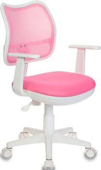 Кресло Бюрократ CH-W797/PK/TW-13A розовый цена