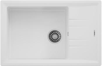 Кухонная мойка Teka STONE 60 S-TG 1B 1D WHITE ручной слив 115330033 inter step is tg sama71fsw 000b201 transparent white