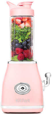 Фото - Блендер Kitfort KT-1376-3 розовый чайник kitfort kt 642 1 розовый 2200 вт 1 7 л