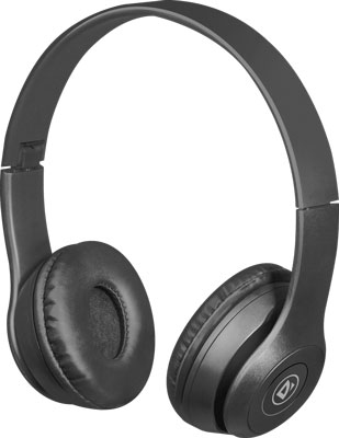 Фото - Беспроводная гарнитура Defender FreeMotion B515 черный Bluetooth (63515) комплект клавиатура мышь microsoft designer bluetooth desktop 7n9 00018 usb беспроводной черный