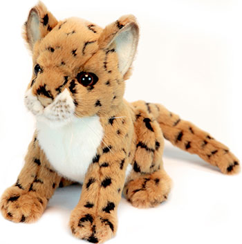 Мягкая игрушка Hansa Creation 2455 Детеныш леопарда 16 см мягкая игрушка hansa детёныш леопарда 18 см