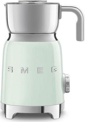 Капучинатор Smeg MFF01PGEU пастельный зеленый тостер на 4 ломтика smeg пастельный голубой tsf03pbeu