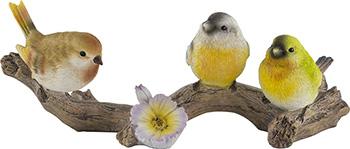 Фото - Фигурка садовая Park Птицы на ветке 169310 фигурка птица на ветке гласар фигурка птиц�� на ветке