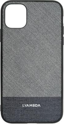Фото - Чеxол (клип-кейс) Lyambda EUROPA для iPhone 12 Mini (LA05-1254-GR) Grey Strip чеxол клип кейс lyambda eris для iphone 12 mini la11 1254 gr green