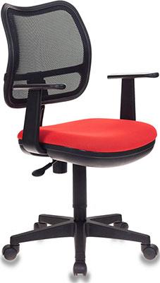 Кресло Бюрократ Ch-797AXSN черный сиденье красный 26-22 сетка/ткань