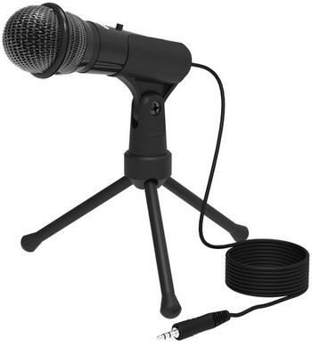 Фото - Микрофон настольный Ritmix RDM-120 Black микрофон ritmix rdm 160 black