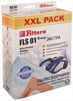 цена Набор пылесборников Filtero FLS 01 (S-bag) (8) XXL PACK ЭКСТРА онлайн в 2017 году