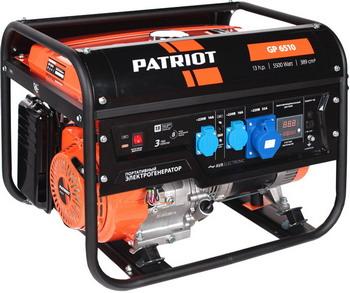 Электрический генератор и электростанция Patriot GP 6510