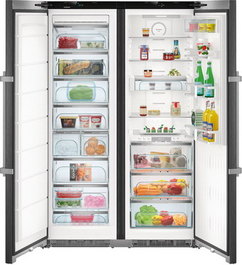 лучшая цена Холодильник Side by Side Liebherr SBSbs 8673-20