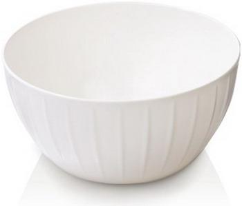 тарелка это твой день белая 13 5 х 12 5 см 5066416 Миска Tescoma DELICIA 22 см 2 5 л белая 630361.11