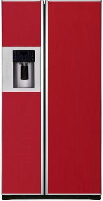 Холодильник Side by Side Iomabe ORE 24 CGFFKB 3004 красное стекло холодильник side by side iomabe ore 24 vghfnm черный
