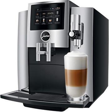 Кофемашина автоматическая Jura S8 Chrom EU 15187 кофемашина jura j6 piano white 15165