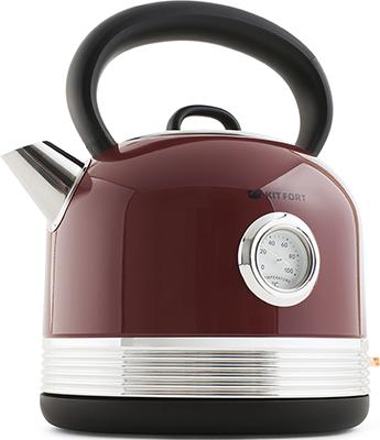 Чайник электрический Kitfort КТ-634-2 красный chlxl красный цвет 12