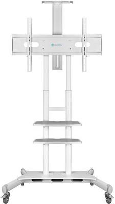 Фото - Мобильная стойка под телевизор ONKRON TS1881 белая мобильная стойка под телевизор itech l503 w