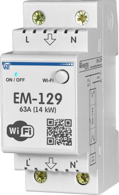 Многофункциональный таймер-реле Новатек-Электро Wi-Fi ЕМ-129 3425680129