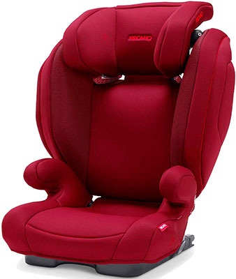 Автокресло Recaro Monza Nova 2 Seatfix гр. 2/3 расцветка Select Garnet Red автокресло группа 2 3 15 36 кг recaro monza nova 2 seatfix xenon blue
