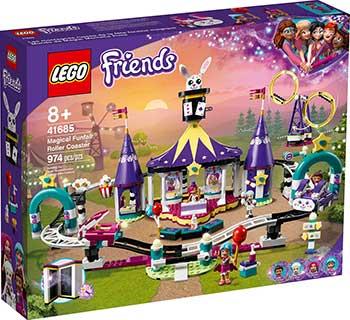 Конструктор Lego FRIENDS ''Американские горки на Волшебной ярмарке'' 41685