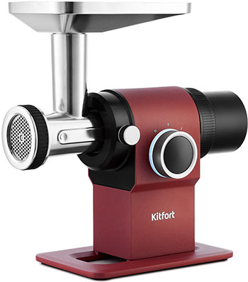 Мясорубка Kitfort КТ-2110 красная