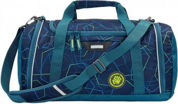 Фото - Сумка спортивная Coocazoo SporterPorter Laserbeam синий/бирюзовый сумка спортивная coocazoo sporterporter springman мятный