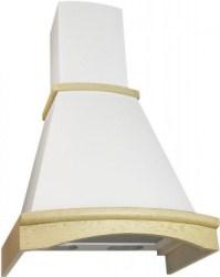 лучшая цена Вытяжка ELIKOR Ротонда 60 беж/дуб белый патина